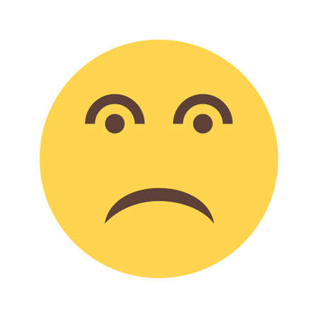 disappointed: Disappointed, sad, frustrate icon