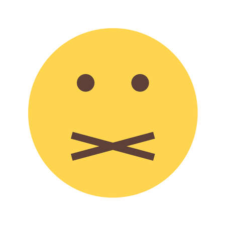 silent: Mute, Silent icon Illustration