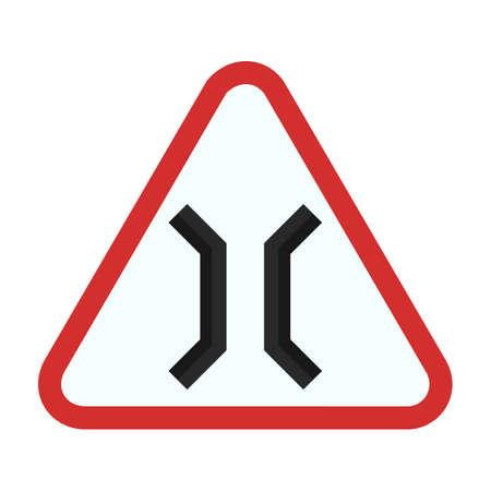 highway icon: Bridge highway icon Illustration