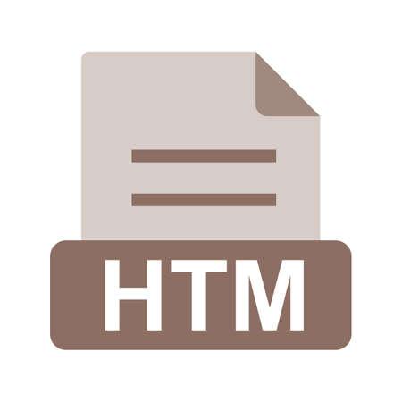 htm: HTM file icon