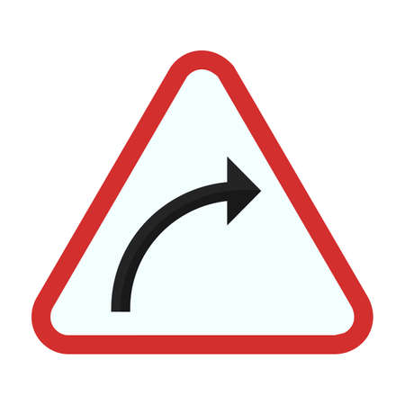 restrictions: Sign arrow icon