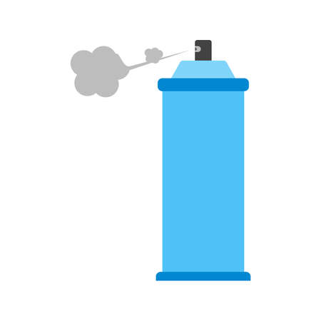 spray paint can: Spray, can, paint icon vector image.Can also be used for art and designing. Suitable for mobile apps, web apps and print media.