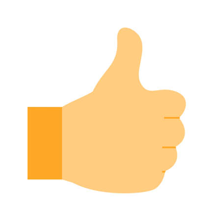 business media: Thumbs, social, like icon vector image. Can also be used for business, finance, technology, economics and accounting. Suitable for web apps, mobile apps and print media.