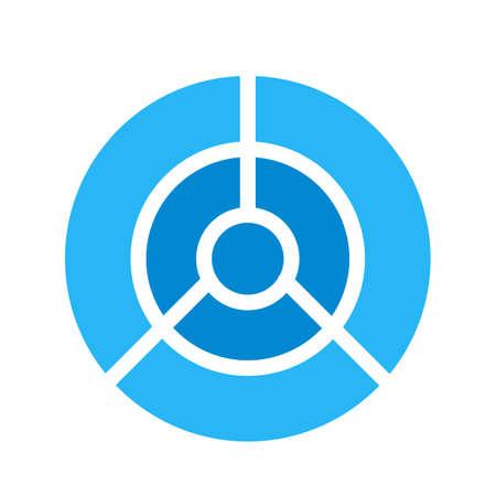 대상, 다트, 다트 판이 아이콘 벡터 이미지. 도형 및 지오메트리에도 사용할 수 있습니다. 웹 응용 프로그램, 모바일 응용 프로그램 및 인쇄 매체에서