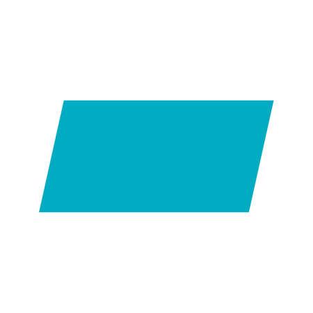 parallelogram: Paralelogramo,, imagen del vector icono de dise�o abstracto. Tambi�n se puede utilizar para las formas y la geometr�a. Adecuado para su uso en aplicaciones web, aplicaciones m�viles y material de impresi�n. Vectores