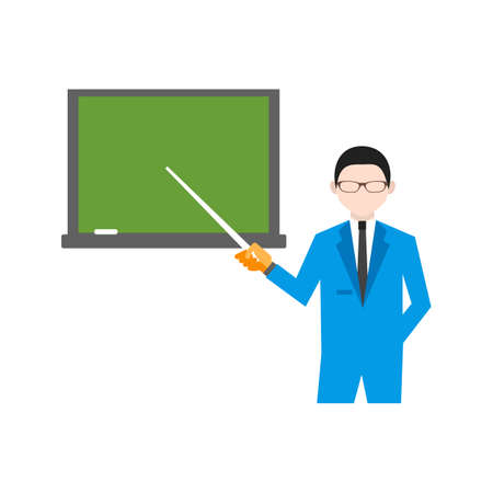 teaching: Teaching, classroom, students icon vector image. Can also be used for activities. Suitable for use on web apps, mobile apps and print media. Illustration