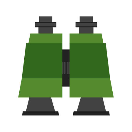 binoculars view: Binoculars, watching, lens icon vector image. Can also be used for military. Suitable for use on web apps, mobile apps and print media.