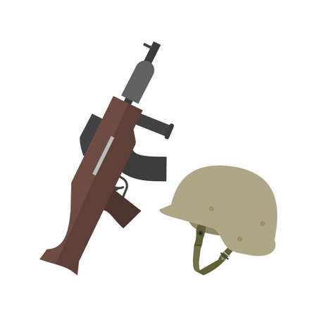 Soldier, helmet, military icon vector image. Can also be used for military. Suitable for use on web apps, mobile apps and print media.
