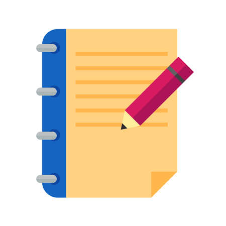 Contract, signing, document icon vector image. Can also be used for wedding. Suitable for use on web apps, mobile apps and print media.