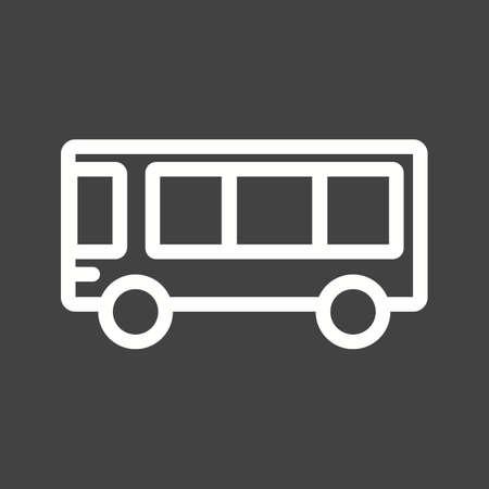 education: School, bus, education icon vector image.