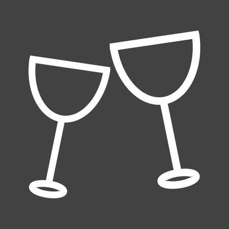 carbonated beverage: Drink, party, bottle icon vector image. Illustration