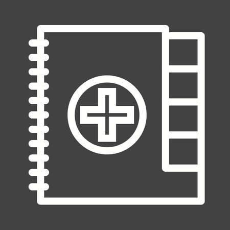 Medical, notes, doctor icon vector image. Can also be used for healthcare and science. Suitable for use on web apps, mobile apps and print media.