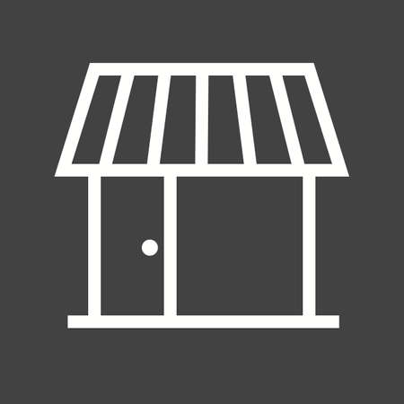 shop floor: Shop, center, building icon vector image.Can also be used for housing. Suitable for mobile apps, web apps and print media.