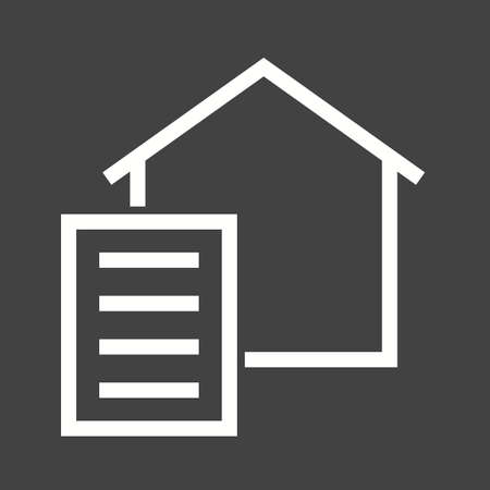 signing papers: Paperwork, paper, signing icon vector image.Can also be used for housing. Suitable for mobile apps, web apps and print media.