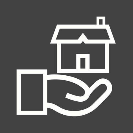 business meeting asian: Estate, agent, house icon vector image.Can also be used for housing. Suitable for mobile apps, web apps and print media.