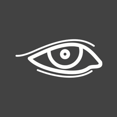 brow: Eyes, makeup, eyeliner icon vector image. Can also be used for makeup and accessories. Suitable for web apps, mobile apps and print media. Illustration