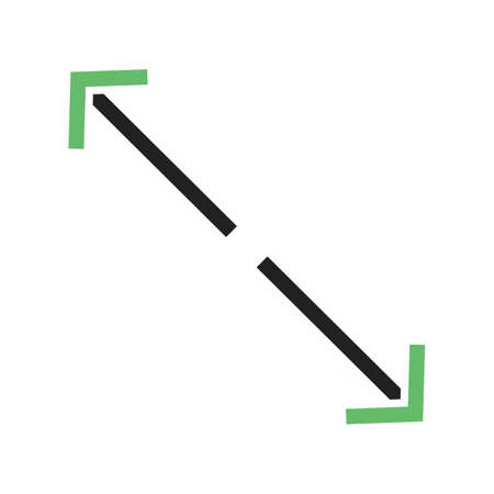 adjusting: Fit, apply, display  icon vector image. Can also be used for arrows. Suitable for mobile apps, web apps and print media. Illustration