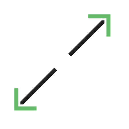 fit: Fit, apply, display  icon vector image. Can also be used for arrows. Suitable for mobile apps, web apps and print media. Vectores