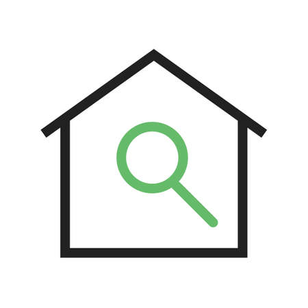 housing search: Search, agent, house icon vector image.Can also be used for housing. Suitable for mobile apps, web apps and print media.
