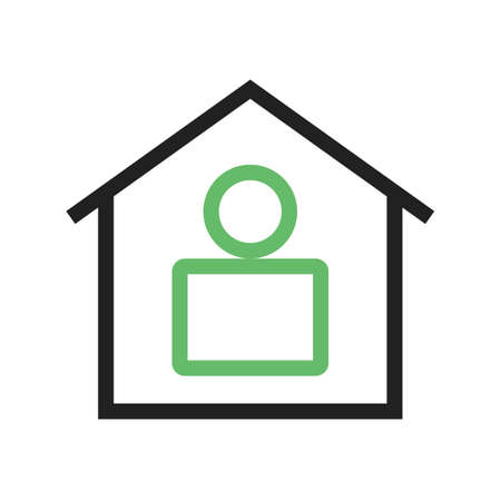 Residence, home, modern icon vector image.Can also be used for housing. Suitable for mobile apps, web apps and print media.