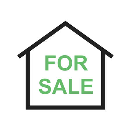 Sale, agent, house icon vector image.Can also be used for housing. Suitable for mobile apps, web apps and print media.