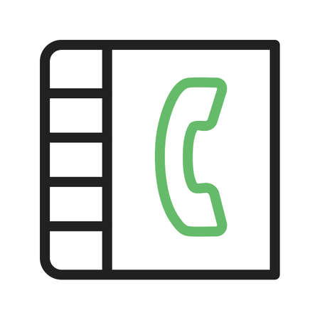 phonebook: Contacts, connections, phonebook icon vector image.Can also be used for IT and communication. Suitable for mobile apps, web apps and print media.