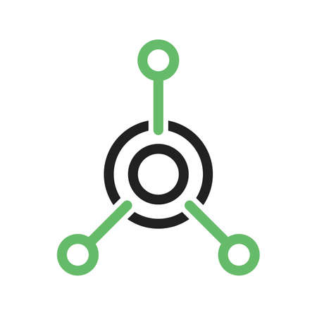 Network, technology, connection icon vector image. Can also be used for IT and communication. Suitable for use on web apps, mobile apps and print media.