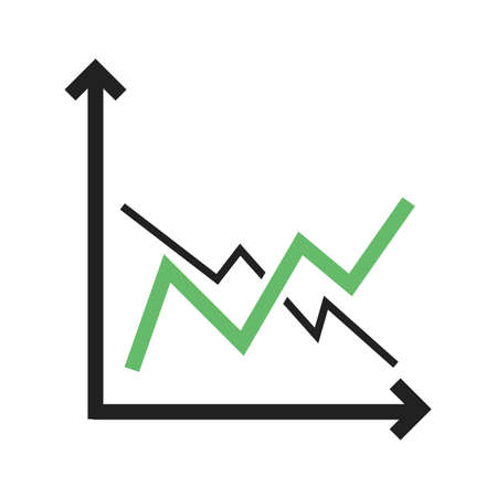 Frequency, bar, graph icon vector image. Can also be used for business management. Suitable for use on web apps, mobile apps and print media.
