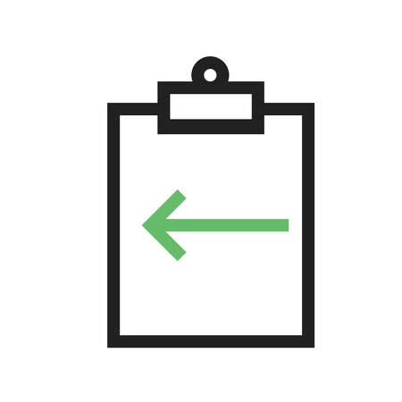 assignment: Assignment, deadline, incomplete icon vector image. Can also be used for material design. Suitable for use on web apps, mobile apps and print media.