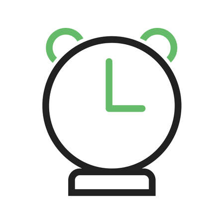 alarmclock: Clock, alarm, watch icon vector image. Can also be used for education and science. Suitable for use on web apps, mobile apps and print media. Illustration