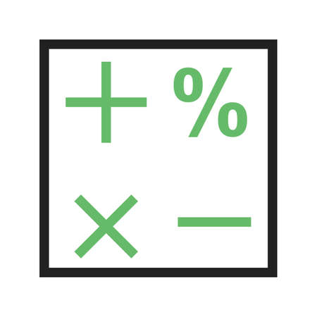 computation: Formula, mathematical, science icon vector image.Can also be used for education and science. Suitable for web apps, mobile apps and print media.