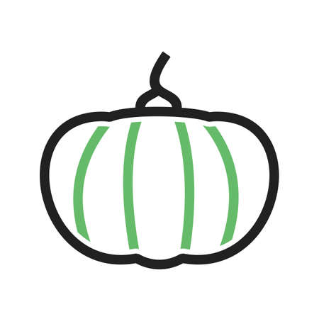iconset: Pumpkin, vegetable, food icon vector image.Can also be used for food iconset. Suitable for mobile apps, web apps and print media.