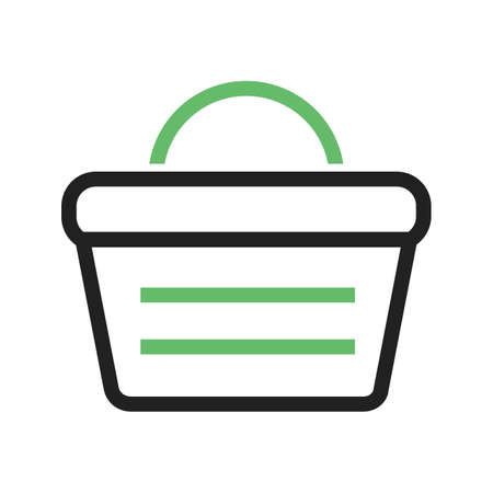 iconset: Basket, vegetables, vegetable icon vector image. Can also be used for food iconset. Suitable for use on web apps, mobile apps and print media.