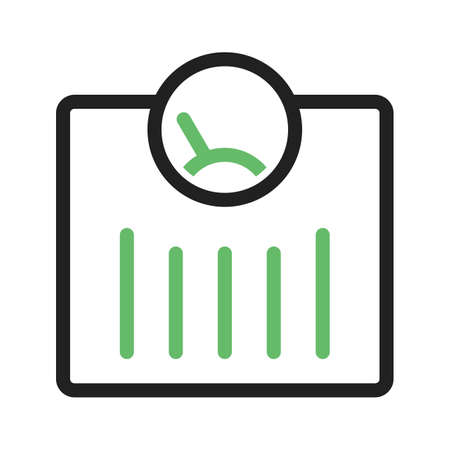 Scale, weighing, machine icon vector image. Can also be used for fitness and sports. Suitable for web apps, mobile apps and print media.