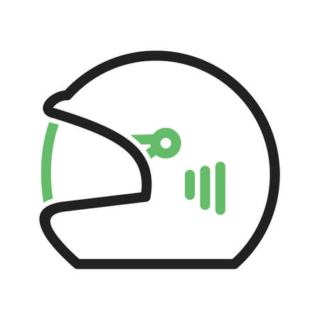 cricketer: Cricket, helmet, player icon vector image. Can also be used for fitness and sports. Suitable for web apps, mobile apps and print media.