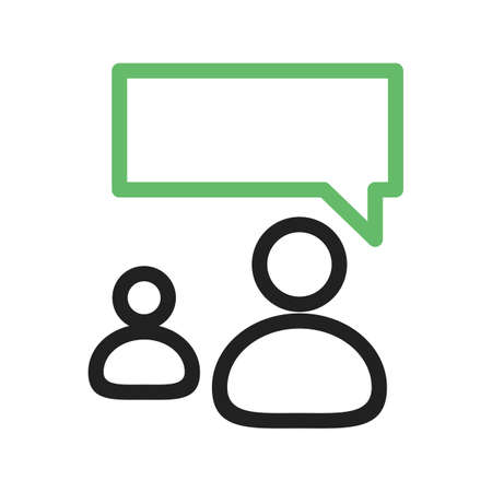 representatives: Talking, people, representative icon vector image. Can also be used for IT and communication. Suitable for web apps, mobile apps and print media. Illustration