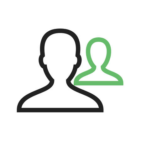 coworker: Employees, office, team icon vector image. Can also be used for business management. Suitable for use on web apps, mobile apps and print media.