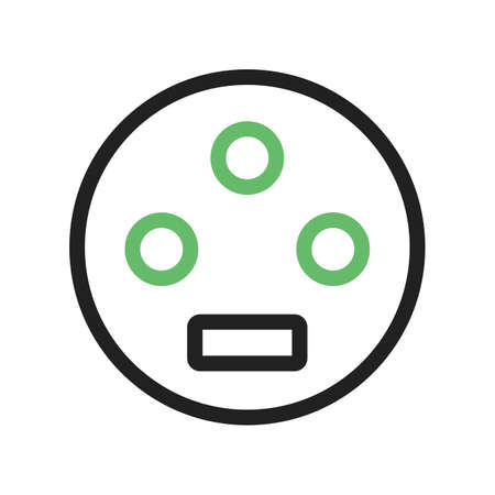 vga: Video, usb, connect icon vector image. Can also be used for material design. Suitable for use on web apps, mobile apps and print media