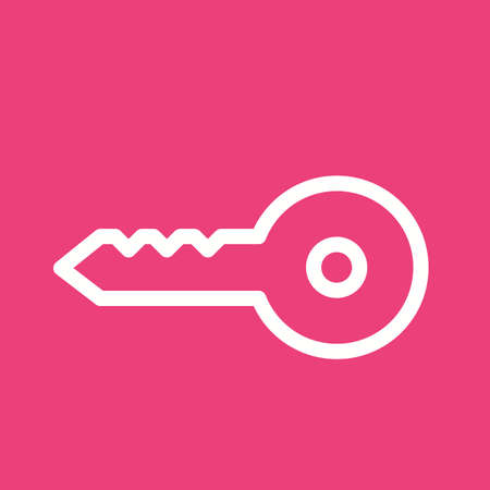 remote lock: Keys, lock, open icon vector image. Can also be used for objects. Suitable for web apps, mobile apps and print media.