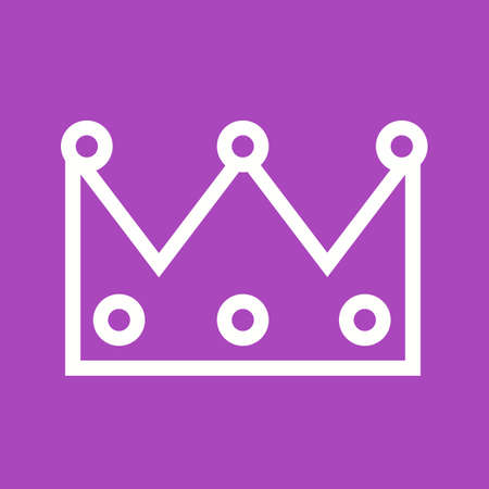 beauty queen: Crown, princess, king icon vector image. Can also be used for party. Suitable for web apps, mobile apps and print media.