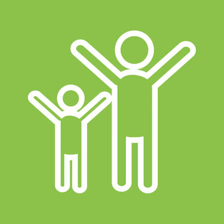 people celebrating: People, celebrating, party icon vector image. Can also be used for party. Suitable for use on web apps, mobile apps and print media.