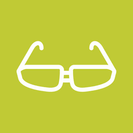 glasses eye: Glasses, eye, design icon vector image. Can also be used for fitness and sports. Suitable for web apps, mobile apps and print media. Illustration