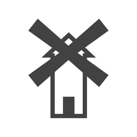 wind farm: Windmill, wind, farm icon vector image.Can also be used for building and landmarks . Suitable for mobile apps, web apps and print media.