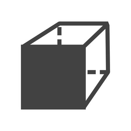 connection block: Puzzle, cube, game icon vector image.Can also be used for education and science. Suitable for mobile apps, web apps and print media.