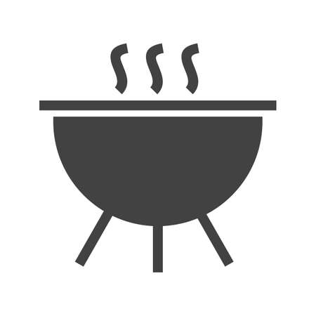 stainless steel pot: Pot, cooking, lid icon vector image. Can also be used for activities. Suitable for use on web apps, mobile apps and print media.