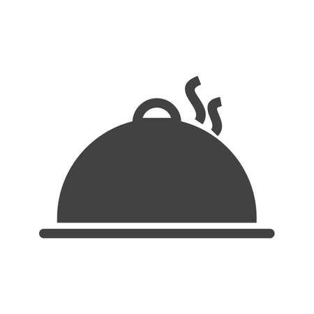 gatherings: Dinner, hot, party icon vector image. Can also be used for activities. Suitable for use on web apps, mobile apps and print media.
