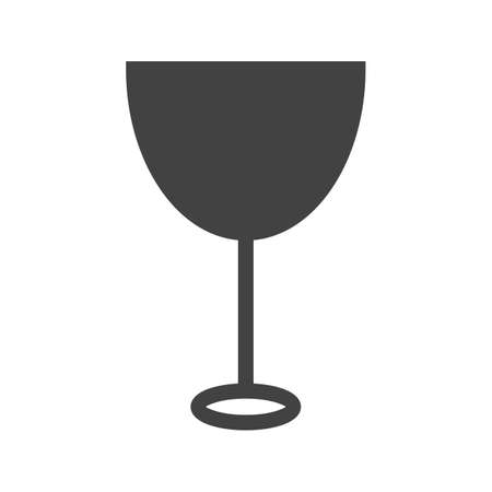 iconset: Goblet, glass, wine icon vector image. Can also be used for food iconset. Suitable for use on web apps, mobile apps and print media.