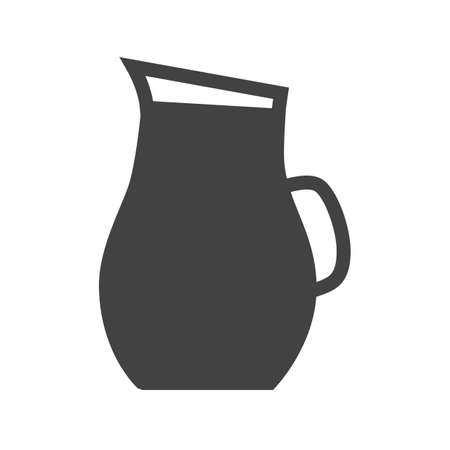 purified: Water, jug, glass icon vector image. Can also be used for food iconset. Suitable for use on web apps, mobile apps and print media. Illustration