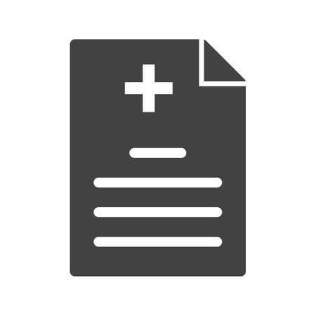 historia clinica: M�dico, informe m�dico icono imagen.