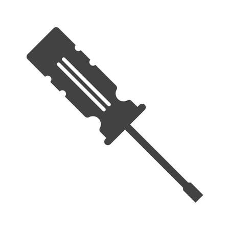 screwdrivers: Screwdrivers, work, construction icon image.